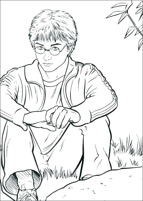 600x840 Harry Potter Coloring Page Harry Potter Coloring Page Harry Potter