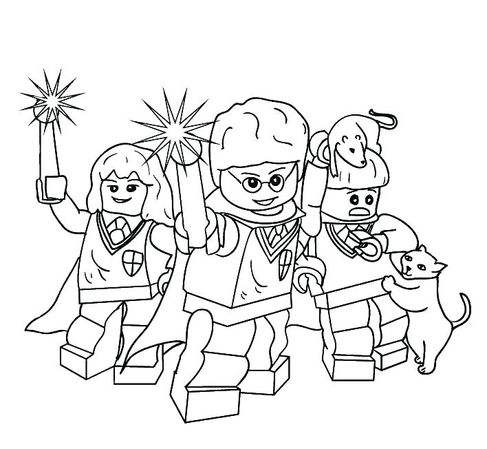 708x652 Harry Potter Coloring Pages Harry Potter House Coloring Page Harry