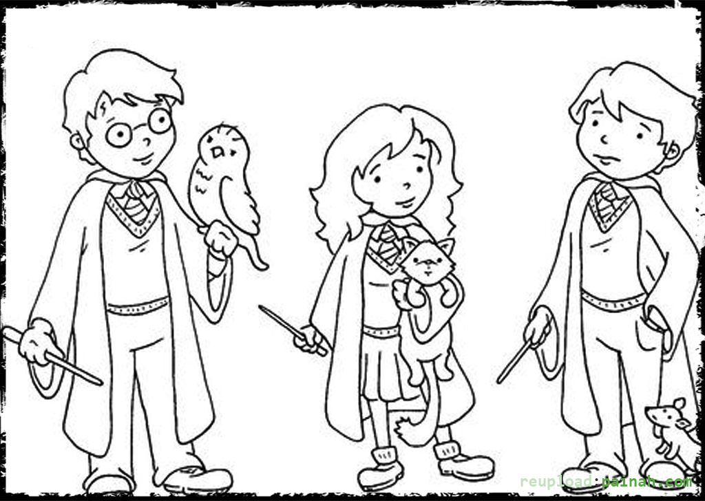 1024x728 Harry Potter Coloring Pages To Download And Print For Free Party
