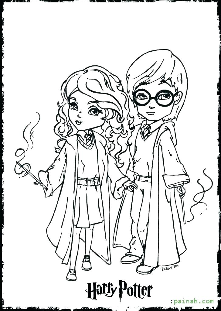 728x1024 Lego Harry Potter Coloring Pages