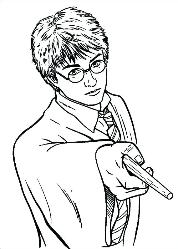 569x796 Elegant Harry Potter Coloring Pages Pdf Or Trend Harry Potter Free