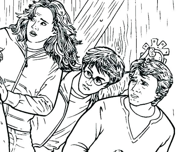 590x506 Free Harry Potter Coloring Pages Free Harry Potter Coloring Pages