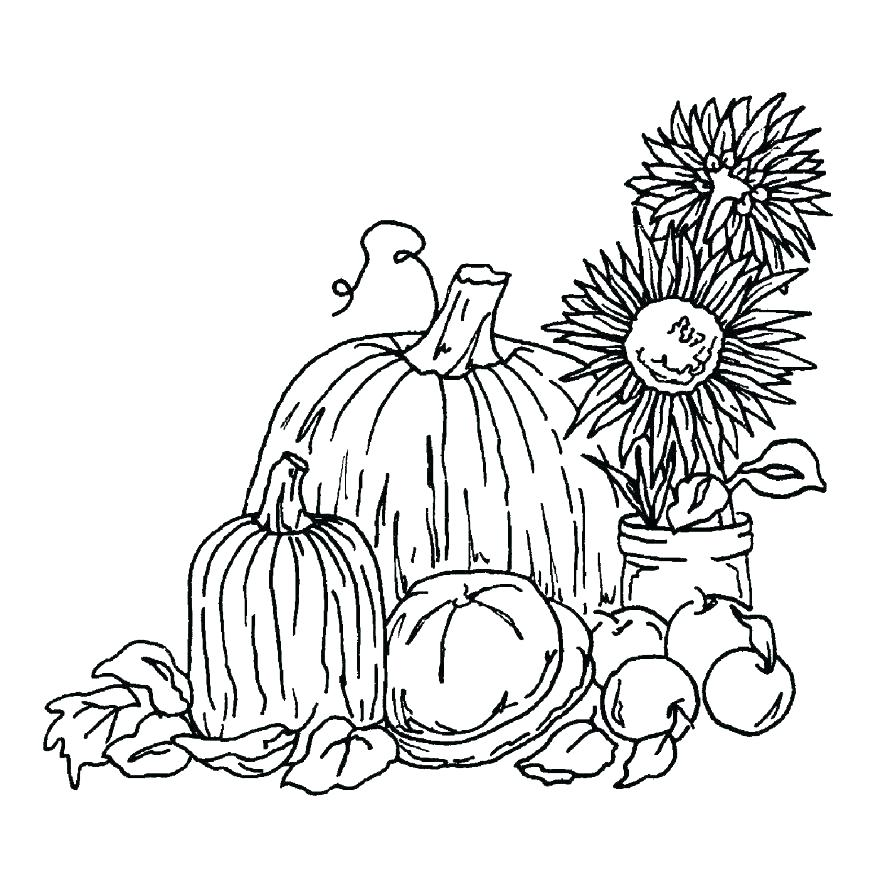 878x878 Fall Harvest Coloring Pages Fall Leaves Coloring Pages Leaf