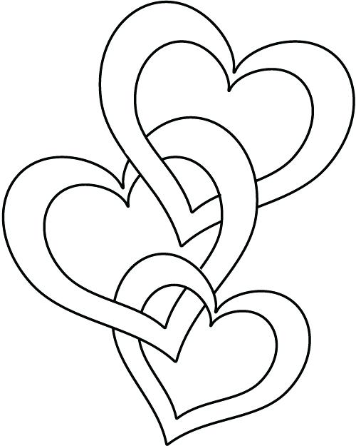Free Heart Coloring Pages At Getdrawings Free Download