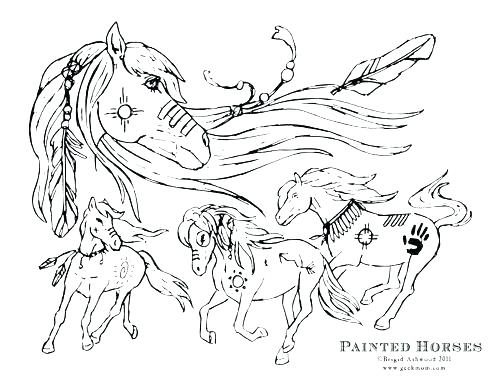 500x386 Horse Coloring Page Pictures Free Online Printable Horse Coloring
