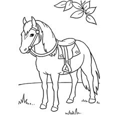 230x230 Top Free Printable Horse Coloring Pages Online Horse And Craft