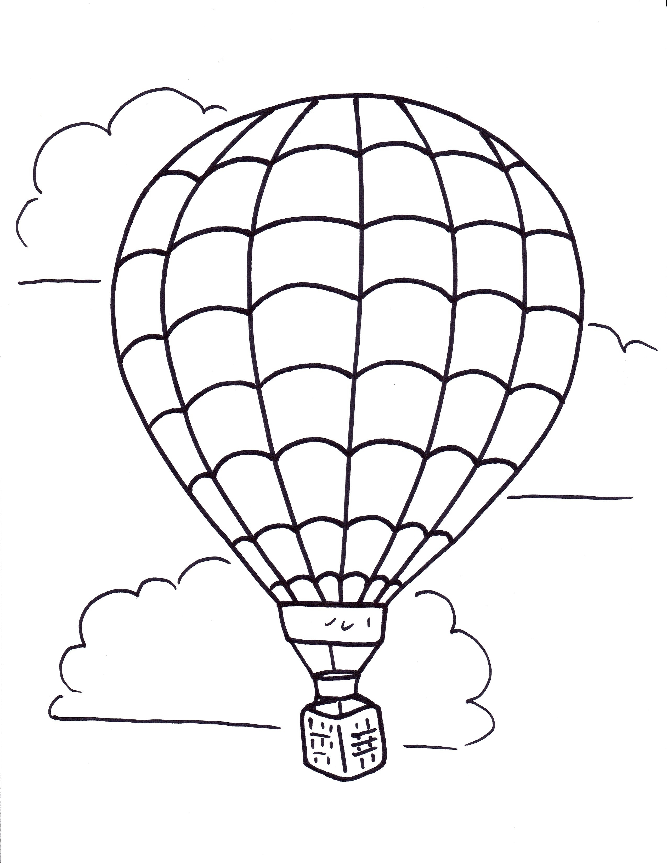 2550x3300 Fresh Hot Air Balloons Coloring Pages Collection Printable