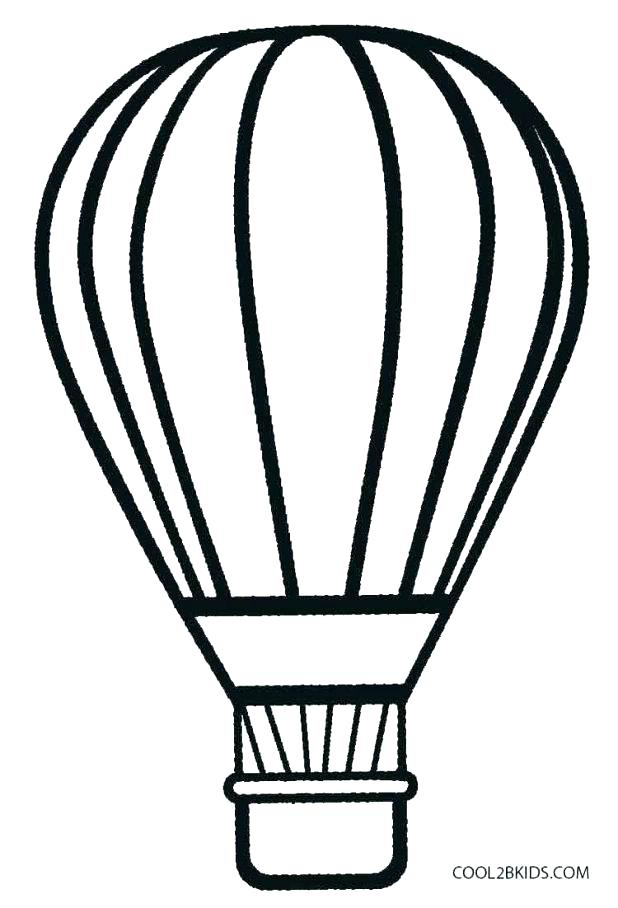 618x908 Hot Air Balloon Coloring Pages Hot Air Balloon Coloring Pages Free