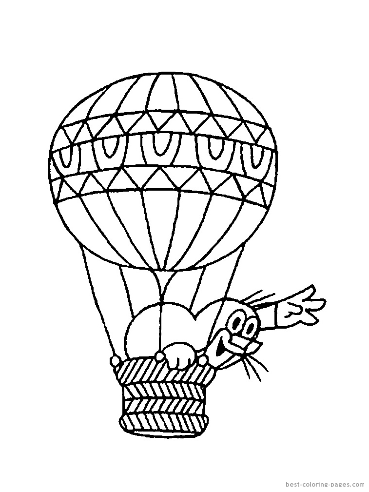 757x1009 Hot Air Balloon Colouring Pictures Hot Air Balloon Basket Coloring
