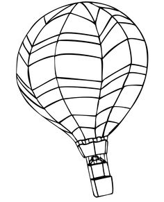 236x291 Printable Hot Air Balloon Coloring Pages For Kids