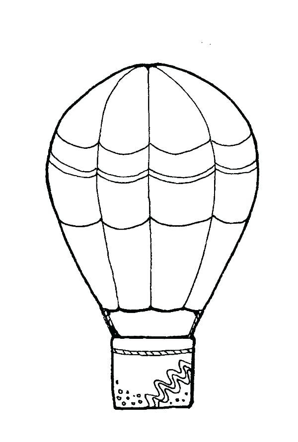 600x891 Detailed Hot Air Balloon Coloring Page Printable Coloring Fresh
