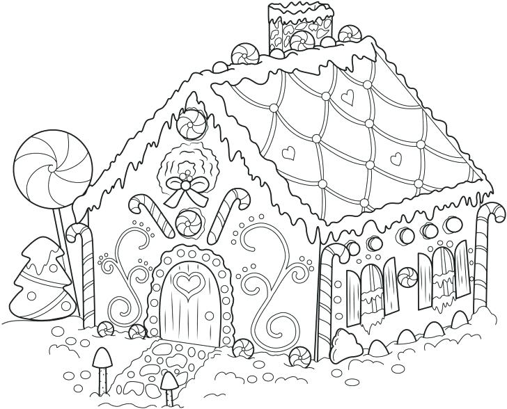 728x588 House Coloring Pages Online House Coloring Page Houses Coloring