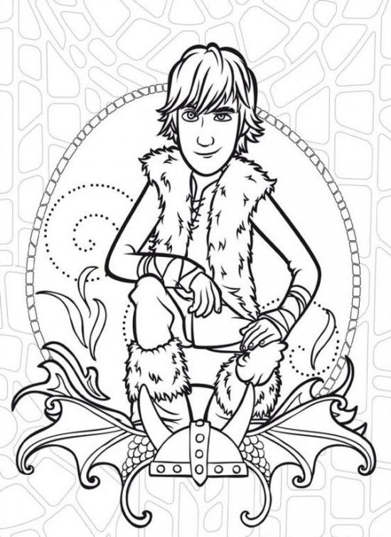 550x754 Free How To Train Your Dragon Coloring Pages For Kids Printable