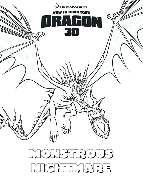 600x777 Free How To Train Your Dragon Coloring Pages How To Train Your
