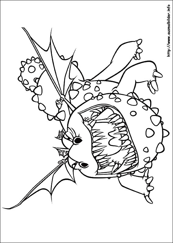 567x794 How To Train Your Dragon Coloring Pages Cloudjumper Free Free