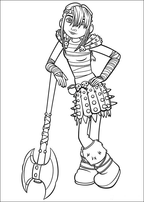 567x794 How To Train Your Dragon Coloring Pages For Kids Printable