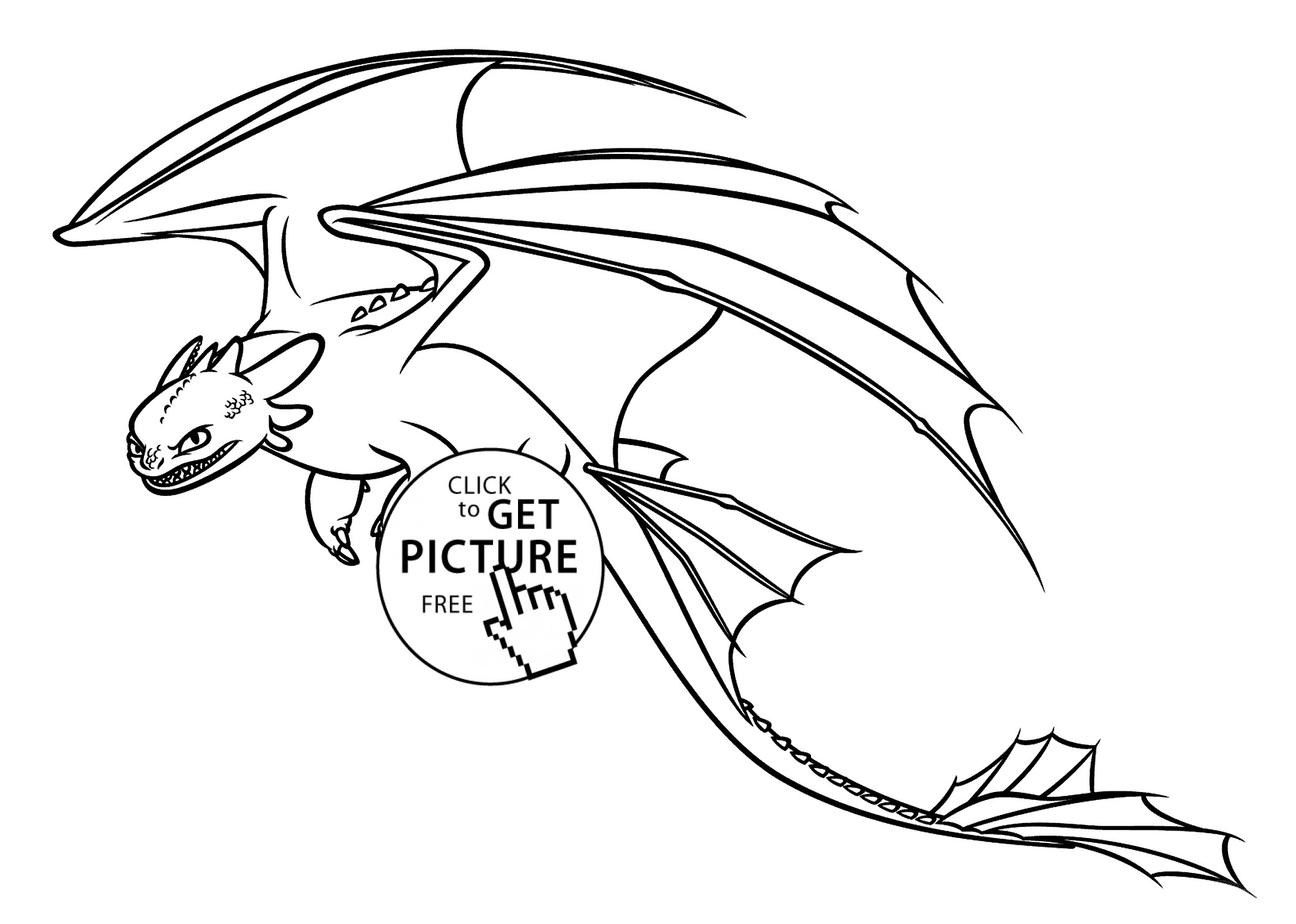2079x1483 Coloring Pages For How To Train Your Dragon Toothless New