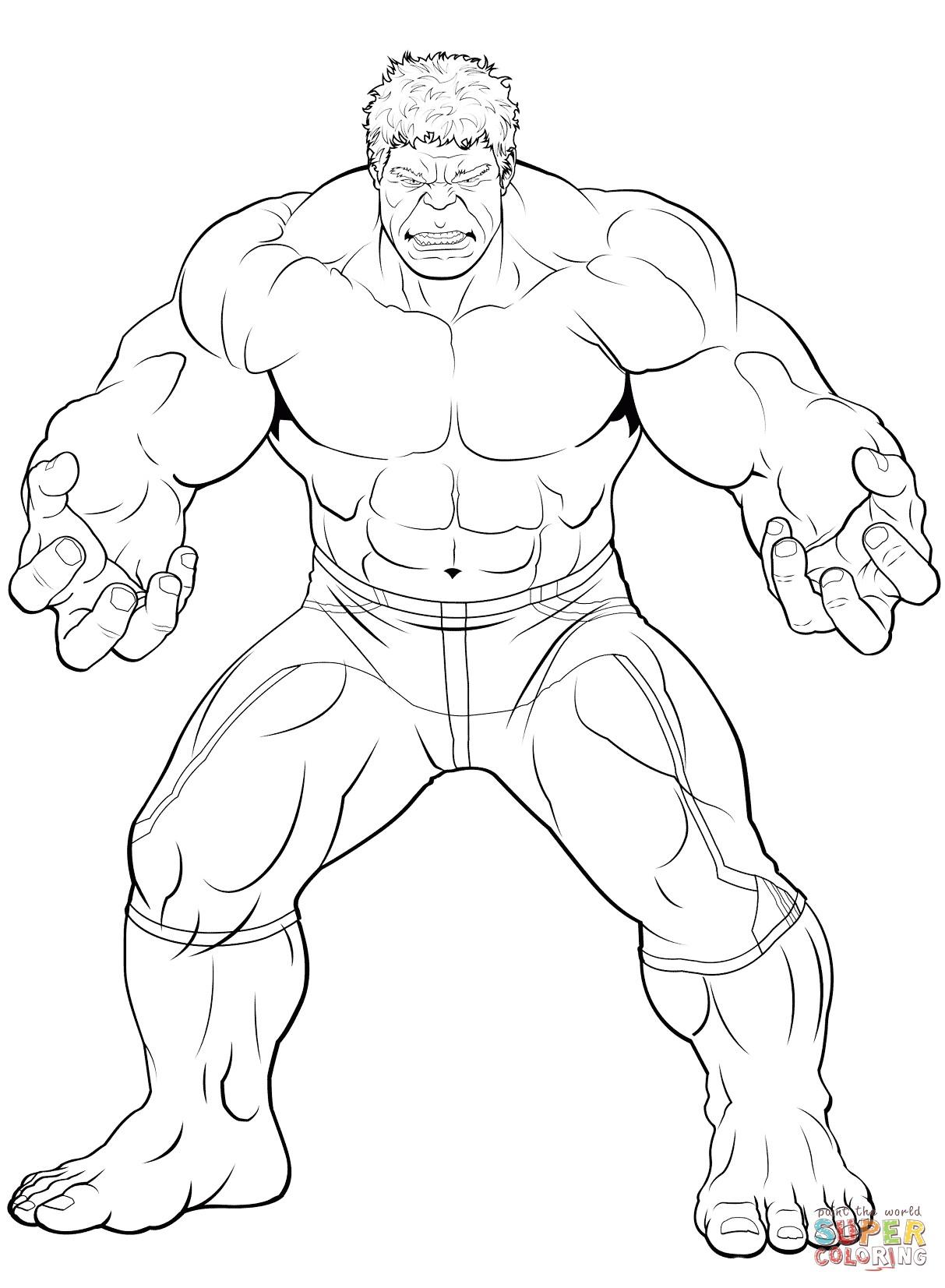 1213x1653 Bonanza Incredible Hulk Coloring Pages To Print Free Printable