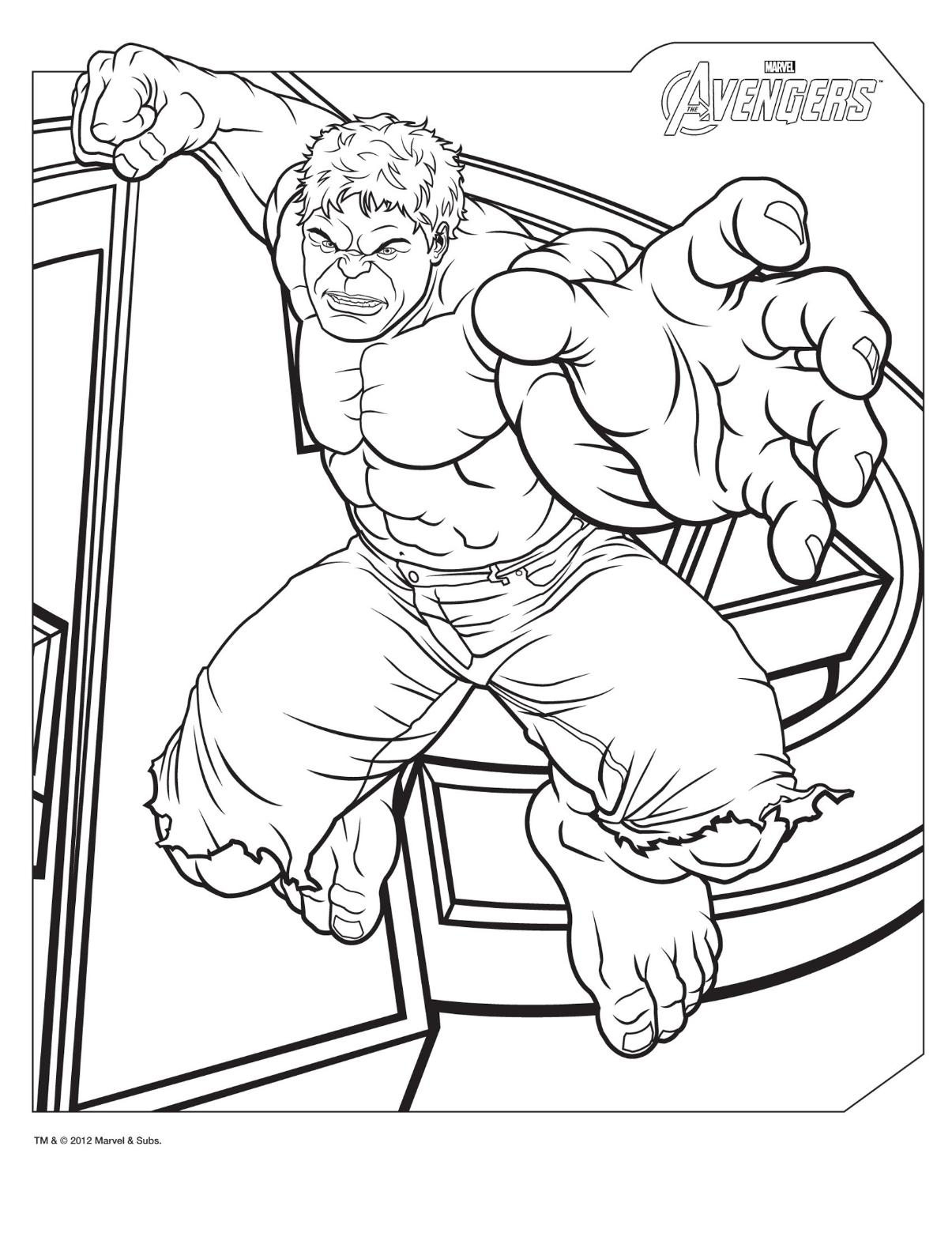 1205x1560 Incredible Hulk Coloring Pages Free Printable Hulk Coloring Pages