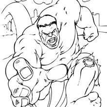 220x220 The Incredible Hulk Coloring Pages