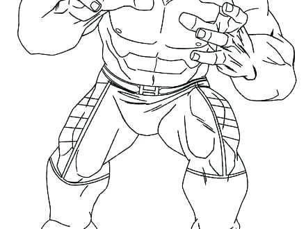 440x330 The Hulk Coloring Pages Hulk Coloring Sheets The Hulk Coloring