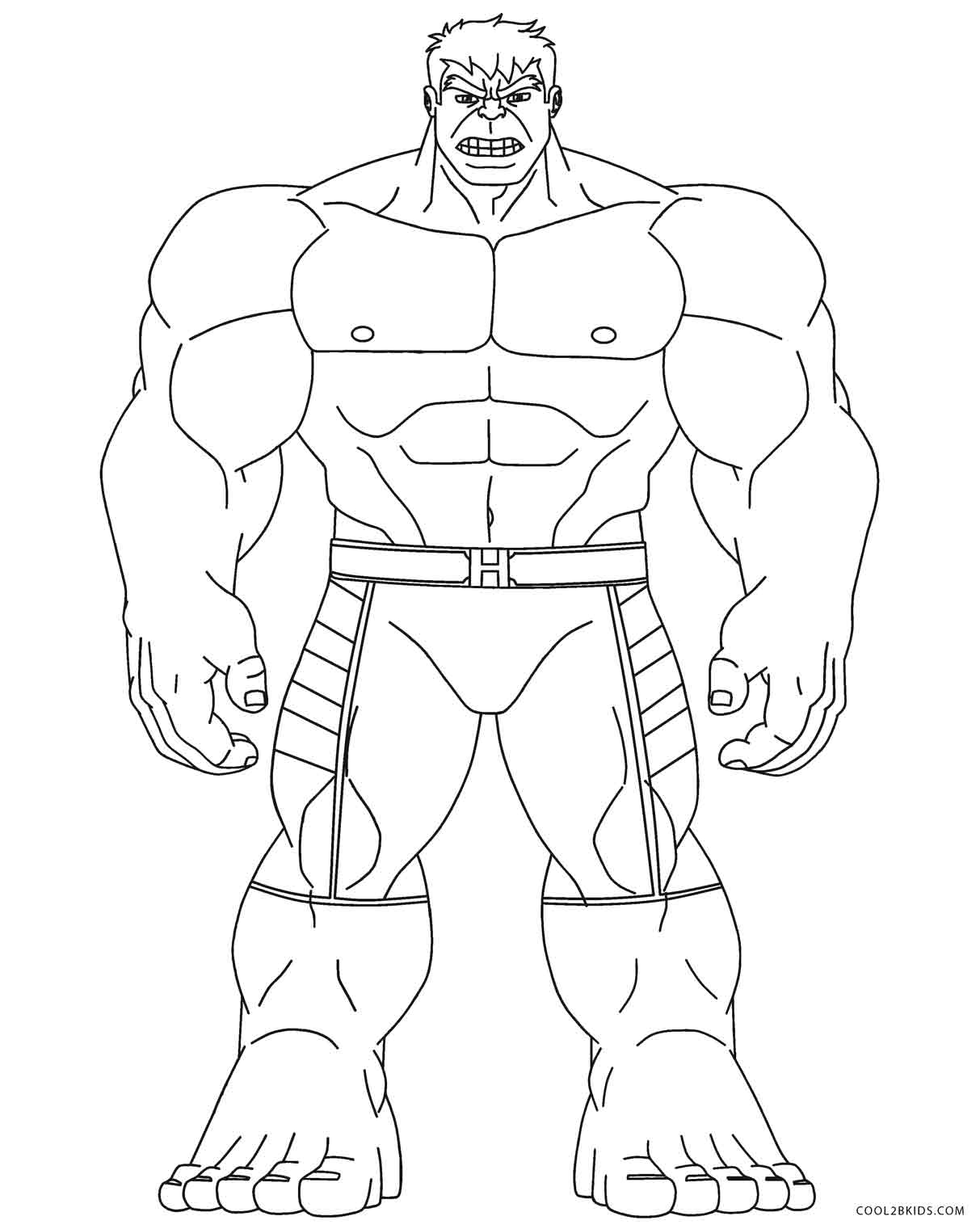 1213x1521 Free Printable Hulk Coloring Pages For Kids The Hulk