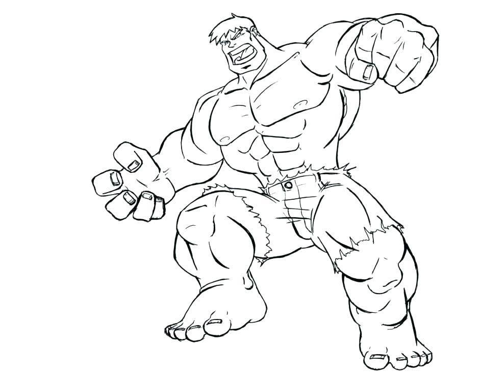 945x730 Free Hulk Coloring Pages Hulk Coloring Pages Incredible Hulk Free