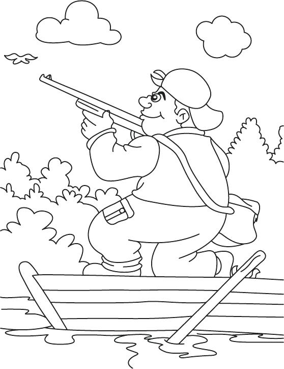 558x724 Hunting Coloring Pages Hunting Coloring Pages With Wallpapers Dual