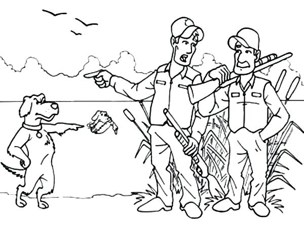 600x463 Deer Hunter Coloring Pages Transasia