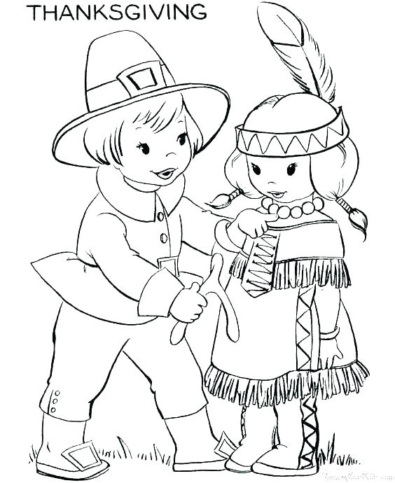 564x690 Indian Color Pages Coloring Page North American Indian Colouring