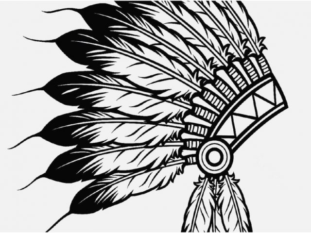 640x480 Feather Coloring Page Images Cherokee Indian Coloring Pages Fresh