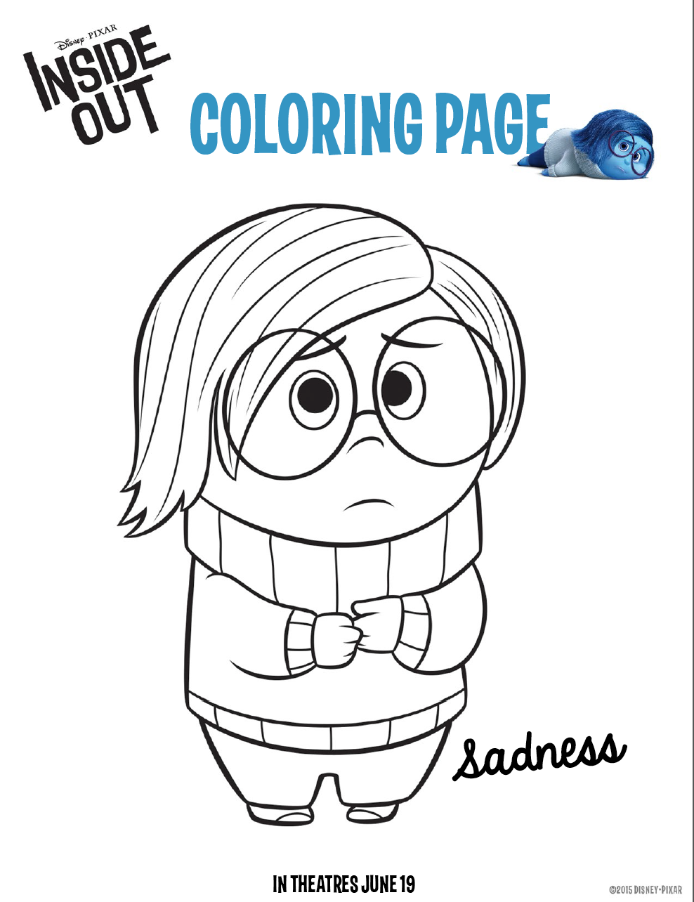 988x1284 Inside Out Coloring Pages Free Downloads For Kids