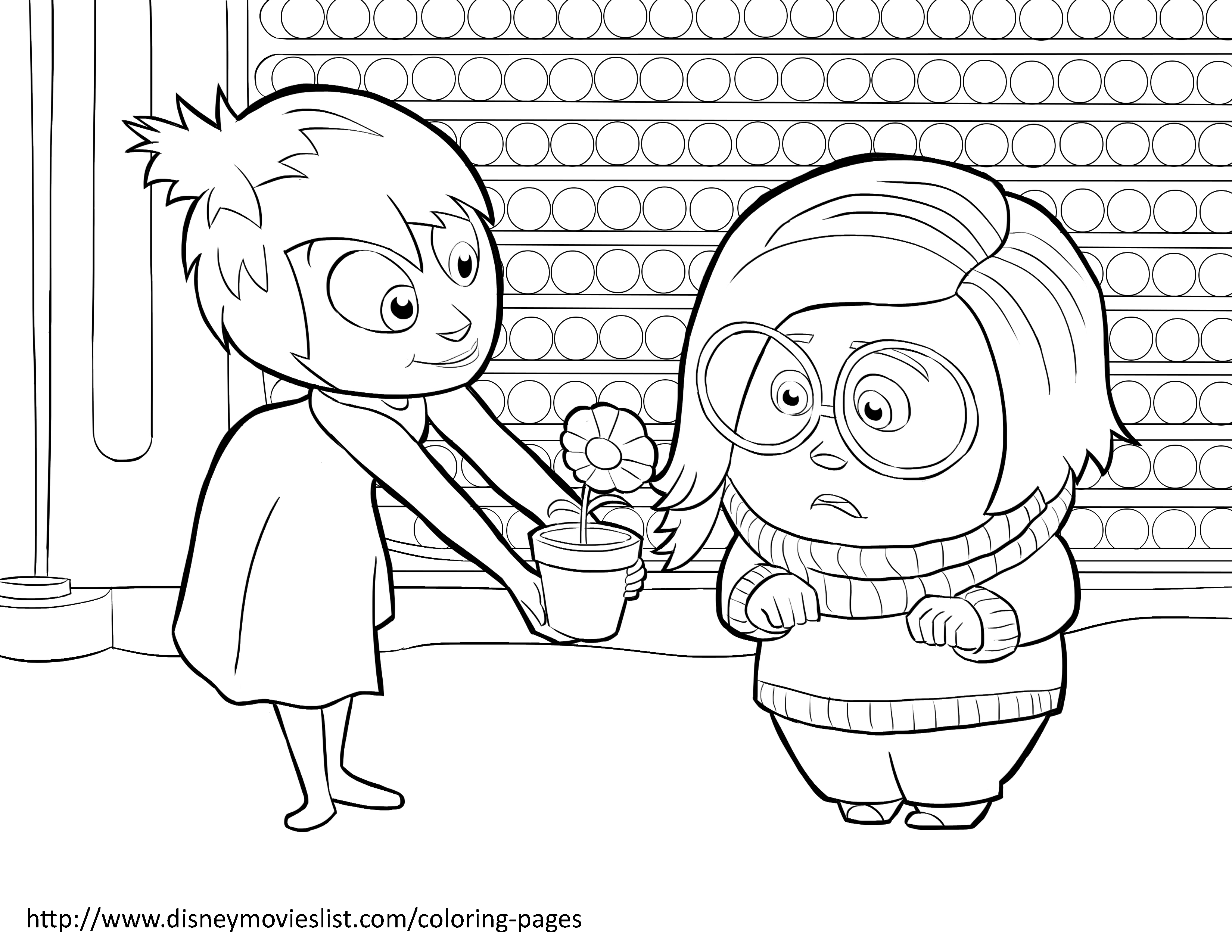 3300x2550 Disney S Inside Out Coloring Pages Sheet Free Disney Printable