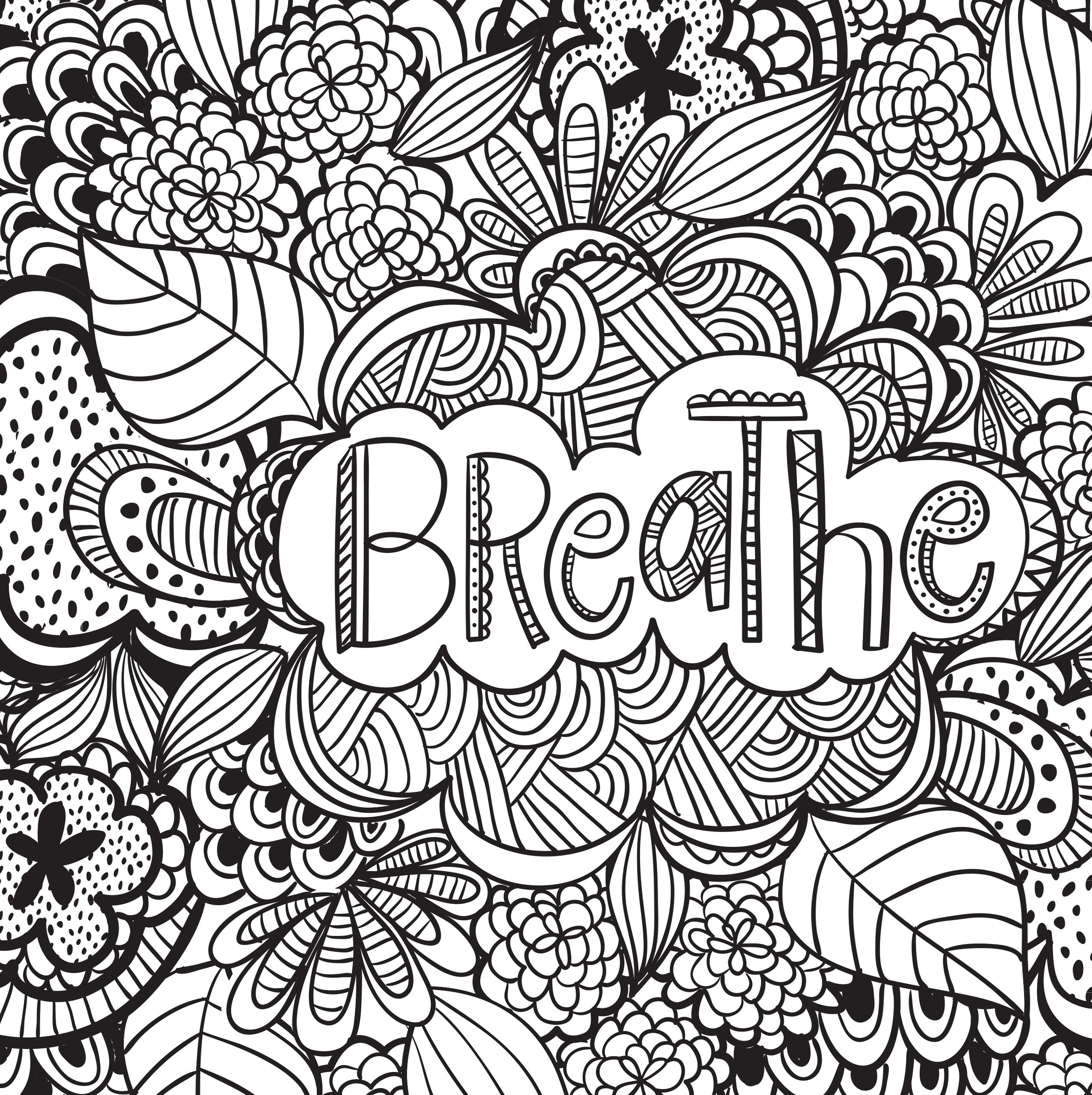 Free Inspirational Adult Coloring Pages at GetDrawings ...