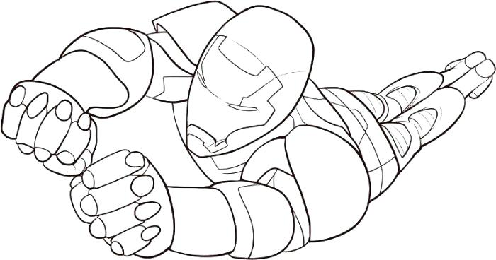 700x368 Free Ironman Coloring Pages Free Printable Coloring Pages Iron Man