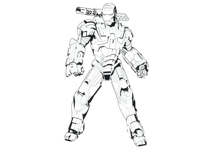 700x500 Iron Man Color Pages Iron Man Colouring In Coloring Pages