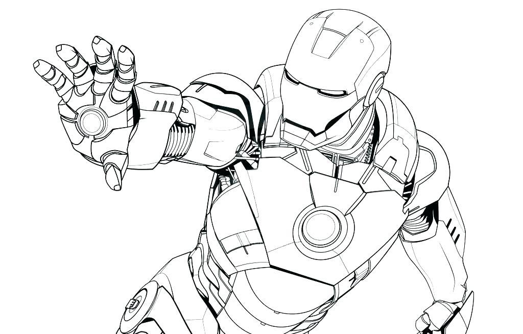 1024x654 Iron Man Coloring Sheets Iron Man Coloring Sheets Iron Man