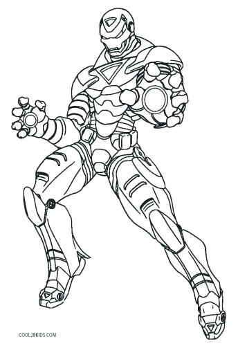 357x500 Ironman Coloring Pages Free Iron Man Coloring Pages Iron Man