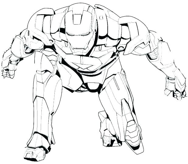 618x541 Ironman Coloring Pages Printable Coloring Pages Iron Man