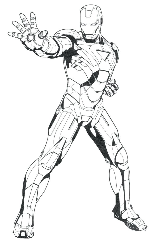 648x1024 Printable Ironman Coloring Pages Iron Man Ready Ultimate Weapon