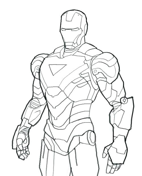 500x619 Free Printable Ironman Coloring Pages Free Iron Man Coloring Pages