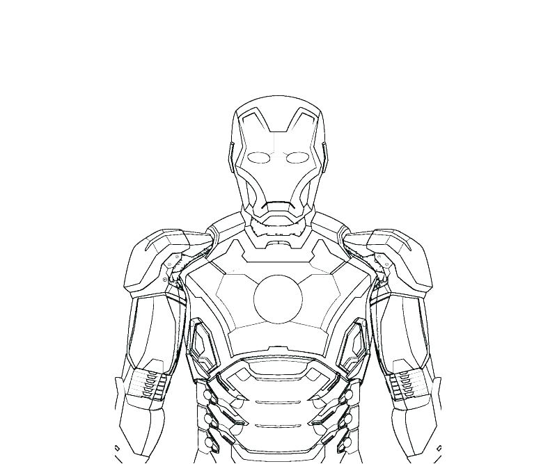 800x667 Iron Man Color Page