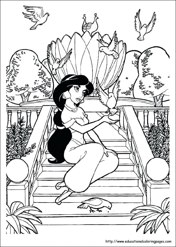 685x960 Jasmine Coloring Pages Jasmine Coloring Pages Coloring Pages