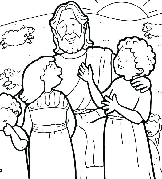 527x583 Jesus Coloring Pages Birthday Coloring Pages Jesus Loves Me Free