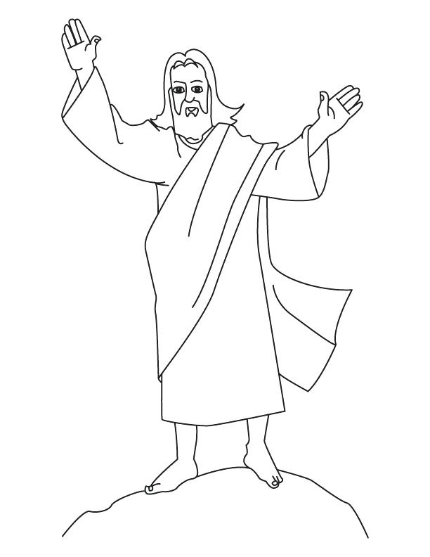612x792 Birth Of Jesus Coloring Pages Free Easy To Color Free