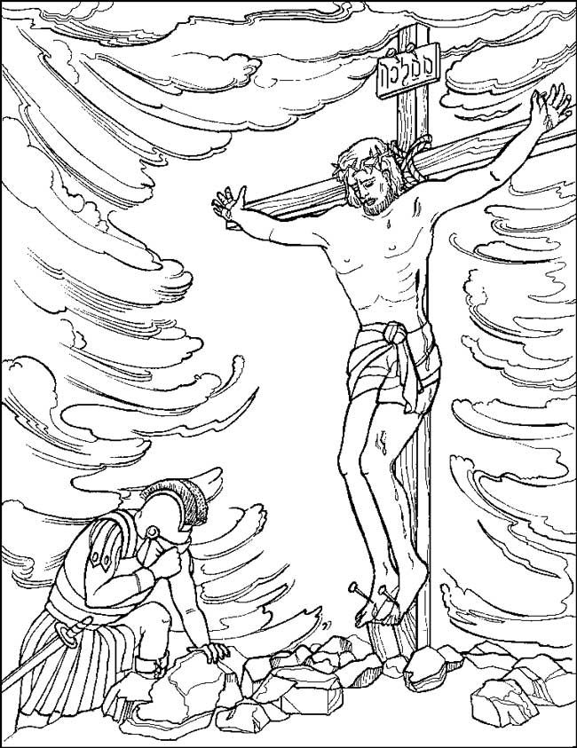 650x843 Captivating Free Printable Coloring Pages Of Jesus On The Cross