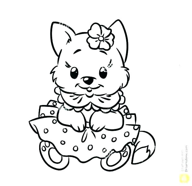618x597 Kitty Coloring Pages Kittens Coloring Pages Exciting Baby Kitten