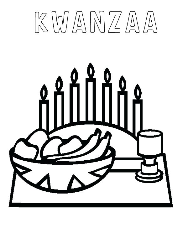 600x776 Kwanzaa Coloring Page Happy Coloring Pages Page Free Printable