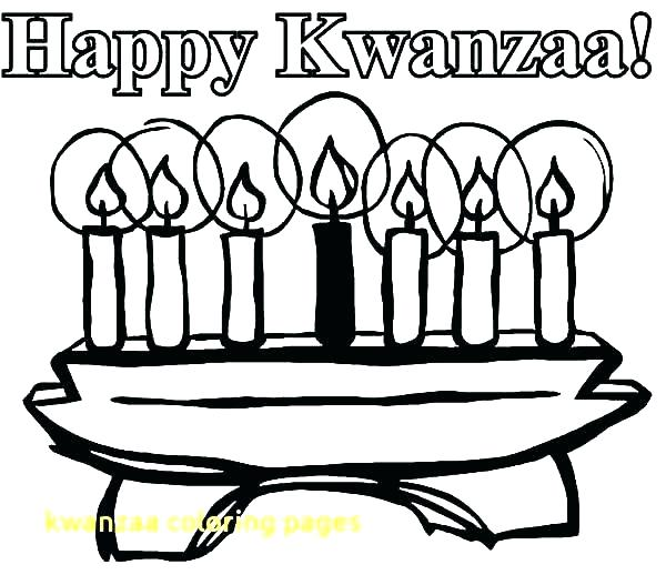 600x527 Kwanzaa Coloring Pages Coloring Page Free Kwanzaa Coloring Pages