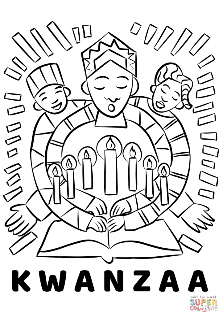 723x1024 Kwanzaa Coloring Sheets